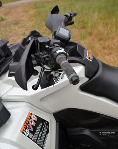 2013 Can Am 1000 Outlander Max LTD Handlebars