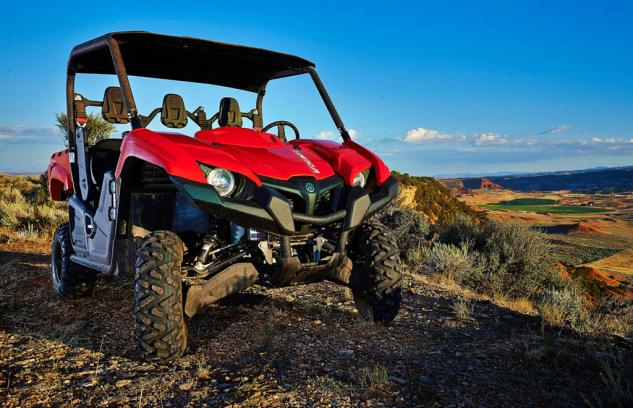 2014 Yamaha Viking 700 Red
