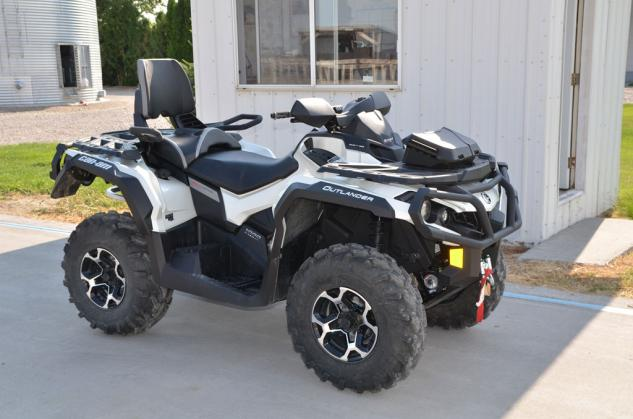 2013 Can-Am Outlander MAX 1000 LTD Profile