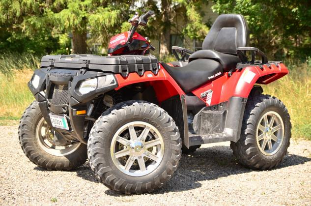 2013 Polaris Sportsman Touring 850 Beauty