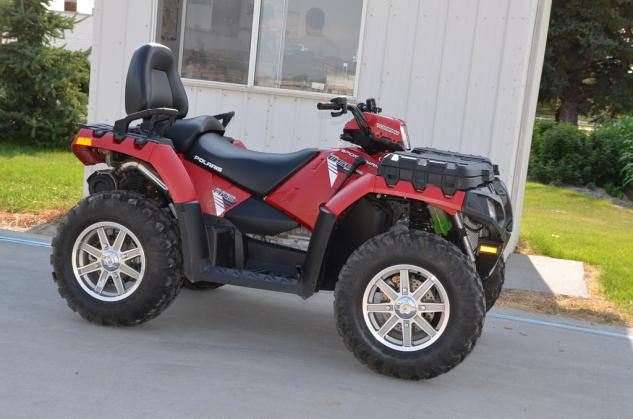 polaris vs can-am 2 up atv