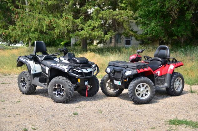 best 2 up atvs