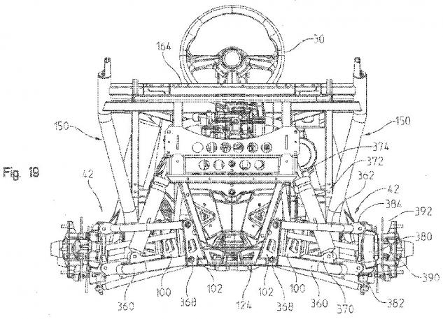 Polairs Patent Rear Suspension