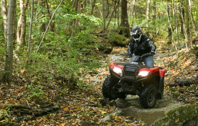 2014 Honda Rancher Action Creek