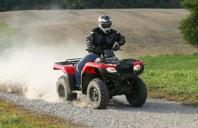2014 Honda Rancher Action Speed