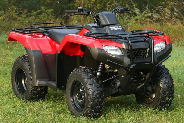 2014 Honda Rancher Front Right