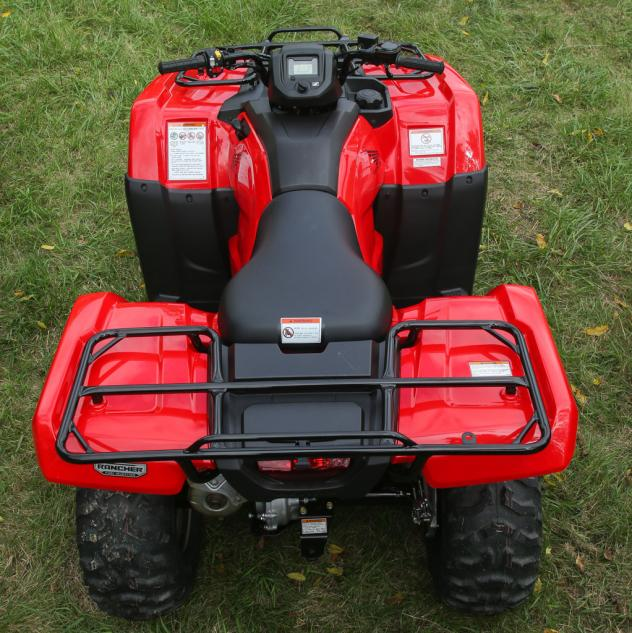 2018 honda rancher 420. brilliant rancher 2014 honda rancher overhead among the many changes for is a softer  seat and larger fuel tank inside 2018 honda rancher 420 r