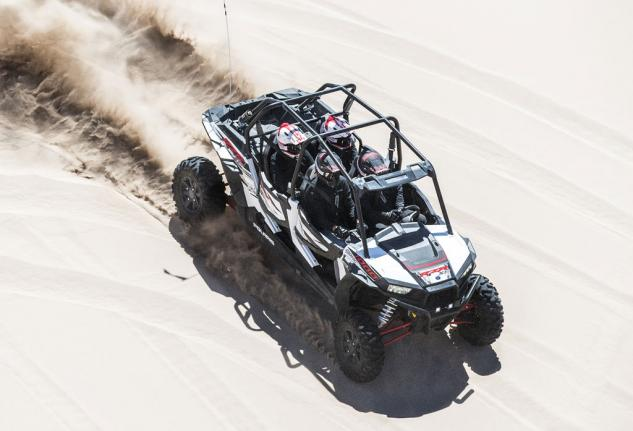 2014 Polaris RZR XP 4 1000 Action Dune