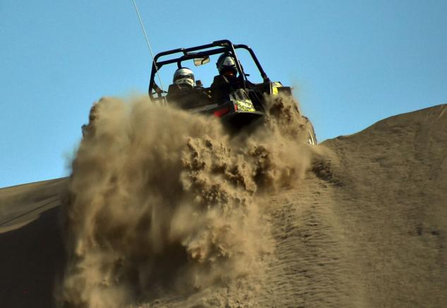 Polaris RZR XP 900 Project Action Climbing