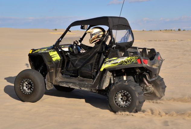 Polaris RZR XP 900 Project Action Left Rear