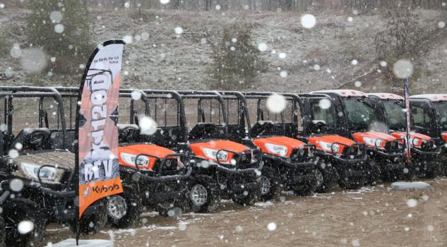 couldn't keep us from testing out the new Kubota RTV X-Series