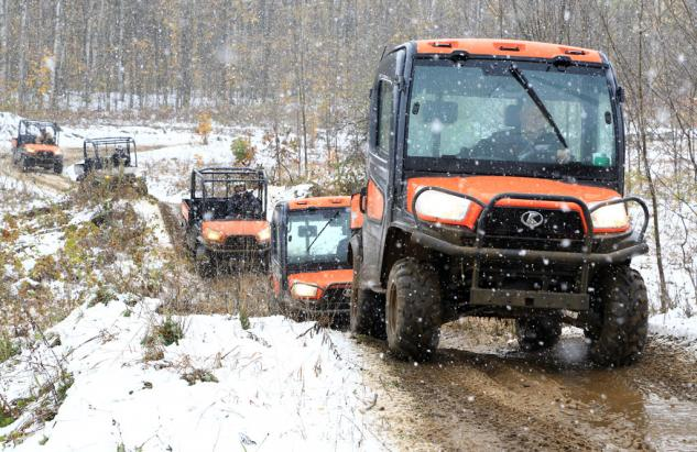 When the temperature drops, you'll wish you had the RTV X1100C.