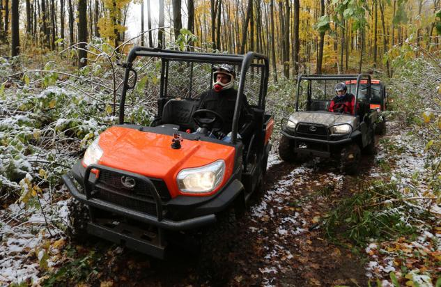 2014 Kubota RTV X900 Action