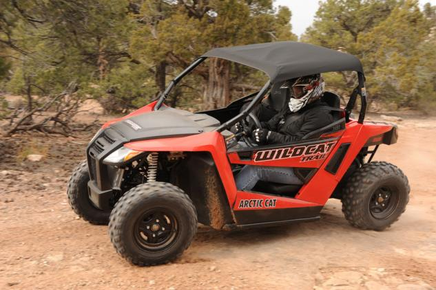 2014 Arctic Cat Wildcat 700 Trail Action Left