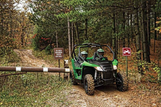 2014 Arctic Cat Wildcat 700 Trail Restrictions