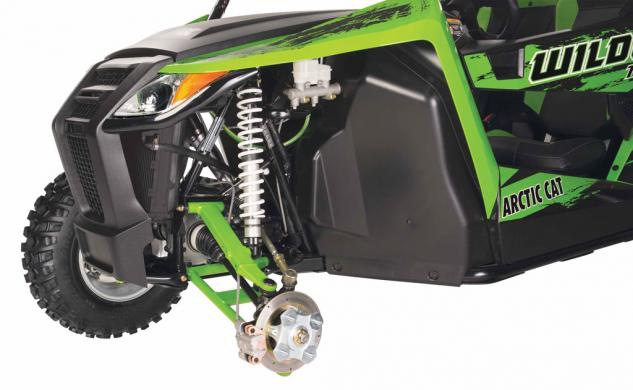 2014 Arctic Cat Wildcat 700 Trail Front Suspension