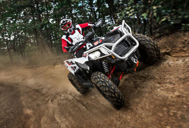 2014 Polaris Scrambler XP 1000 Action Front