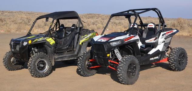2014 Polaris RZR XP 1000 and RZR XP 900 LE