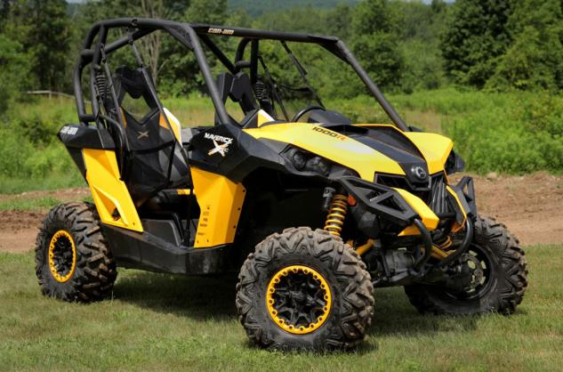 2014 Can-Am Maverick 1000R X xc Front Right