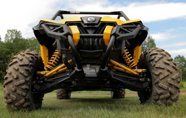 2014 Can-Am Maverick 1000R X xc Front Suspension
