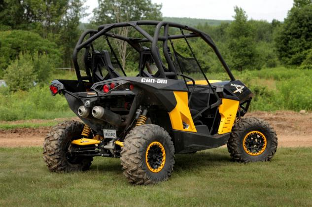 2014 Can-Am Maverick 1000R X xc Right Rear