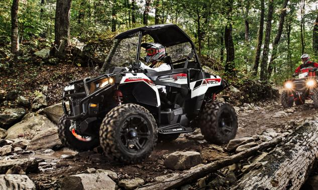 2014 Polaris Sportsman ACE Action Left