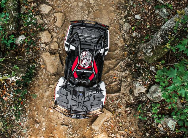 2014 Polaris Sportsman ACE Action Overhead