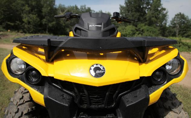 2014 Can-Am Outlander 500 Front