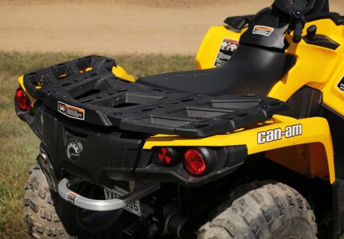 Can Am Outlander 2018 >> ATV Pictures: ATV 2014 Can-Am Outlander 500 Rear Rack, ATV Images