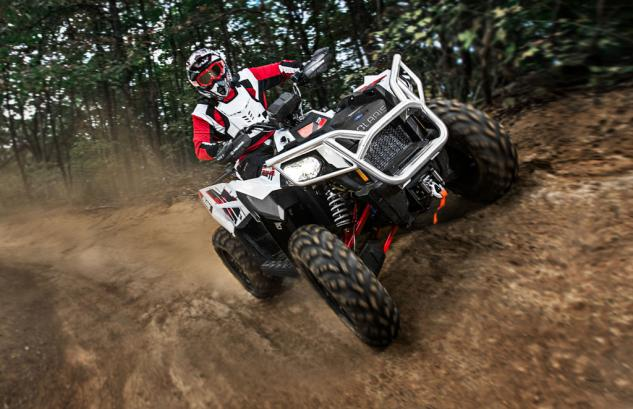 2014 Polaris Scrambler 1000 Action Front