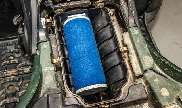 Clean ATV Air Filter