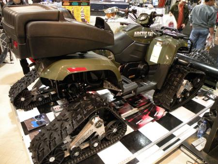 If you want a track system for your ATV, Toronto was the place to find one.