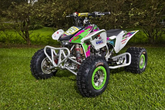 Anna Byrd TRX450R After