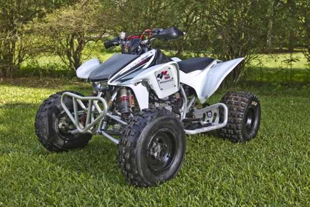 Anna Byrd TRX450R Before