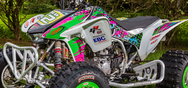 Anna Byrd TRX450R Graphics