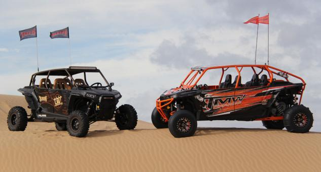 2014 UTV Industry Ride Build-Off Cars