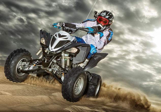 2014 Yamaha Raptor 700R SE Action Beauty