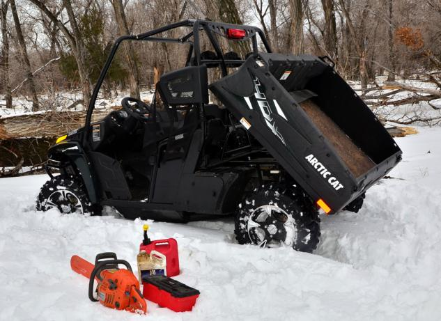 2014 Arctic Cat Prowler 700 HDX Limited Dump Bed
