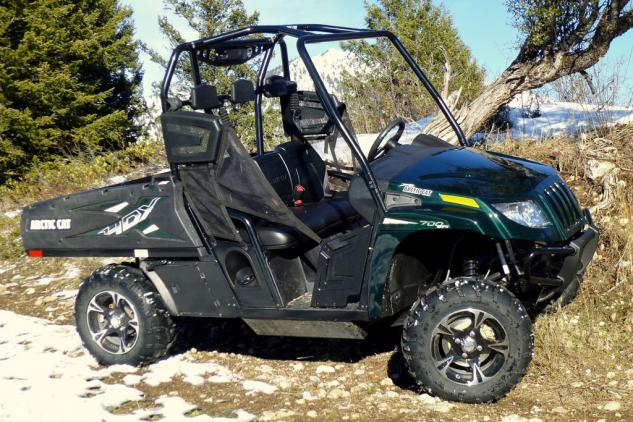 2014 Arctic Cat Prowler 700 HDX Limited Profile Right