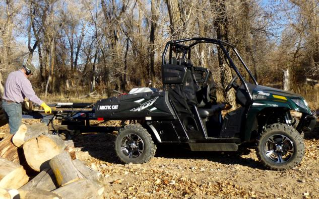 2014 Arctic Cat Prowler 700 HDX Limited Wood Splitter