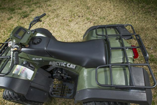2004 Arctic Cat 500 New Seat and Cargo Racks