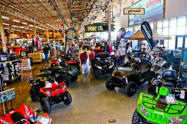 Arctic Cat ATVs on Display