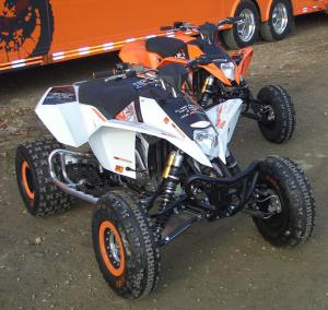 Even race-ready KTM has a wide selection of accessories.
