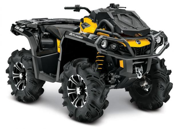 2015 Can-Am Outlander 800R X-mr Front Right