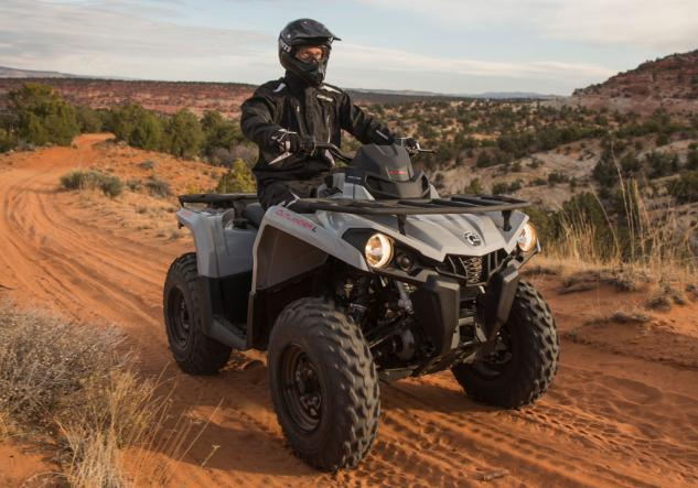 2015 Can-Am Outlander L 450 Grey