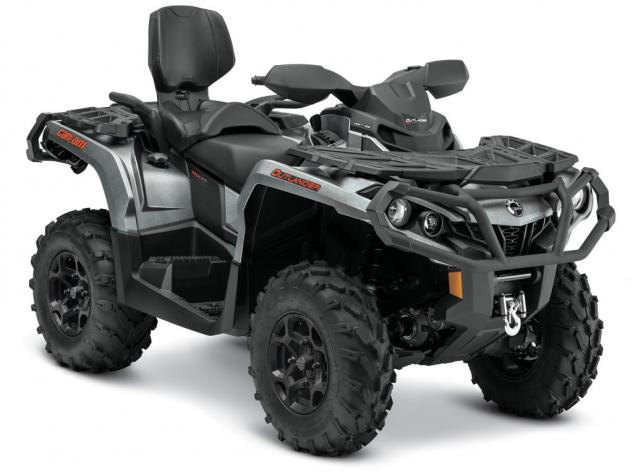 2015 Can-Am Outlander MAX 1000 XT Brushed Aluminum