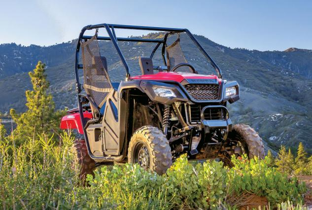2015 Honda Pioneer 500 Beauty