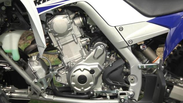 2014 Yamaha Raptor 700 Engine