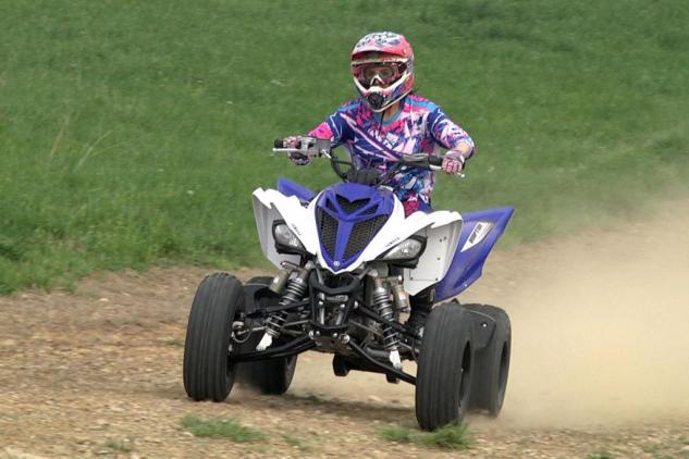 2014 Yamaha Raptor 700 High Speed