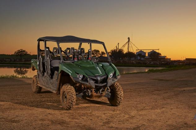2015 Yamaha Viking VI Green Beauty